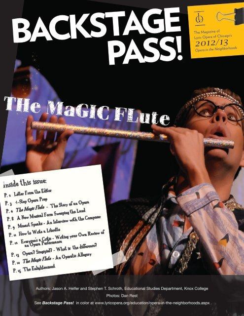 2012/13 - Lyric Opera of Chicago