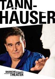 Programmheft - Badisches Staatstheater - Karlsruhe