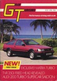 GT Magazine April 84 - MatraSport.dk