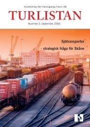 Turlistan 3 2004 - Helsingborgs Hamn AB