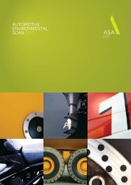 automotive environmental scan 2012 - Auto Skills Australia / ASA