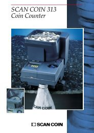 SCAN COIN 313 Coin Counter - SRS Systems Inc.