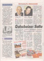 Download des Artikels in der Kronen Zeitung - Gutschein