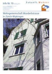 Editorial - Genossenschaft Zukunftswohnen 2. Lebenshälfte