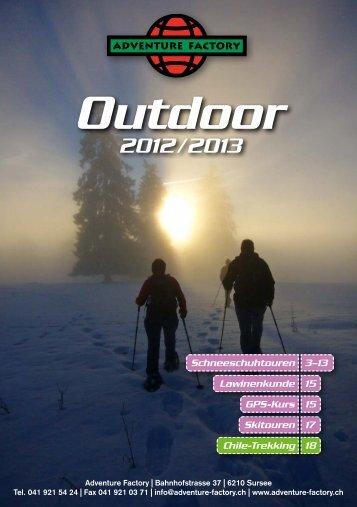 Abend-Schneeschuhtour auf der Alpgschwänd - Adventure Factory