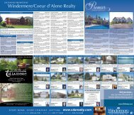 exclusively presented by - Windermere - Coeur d'Alene Realty