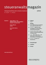 steueranwaltsmagazin 3/2012 - Arbeitsgemeinschaft Steuerrecht im ...