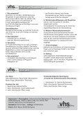 Kurz-Programm '12 - vhs Beilngries - Page 5