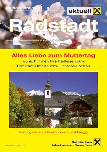 Events 2010 - Raiffeisenbank Radstadt