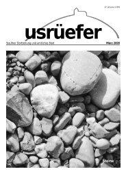 1. Ausgabe März [PDF, 3.56 MB] - Staufen