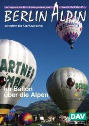 Wanderleiter gefunden - AlpinClub Berlin