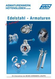 Edelstahl - Armaturen