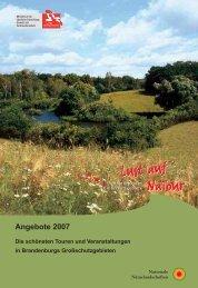 Angebote 2007 Die schönsten Touren und Veranstaltungen in ...