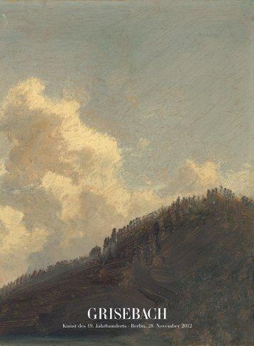 201 - Kunst des 19. Jahrhunderts - Villa Grisebach Auktionen GmbH