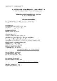 Geschäftseinteilung (pdf, 993 KB) - Bundesministerium für Unterricht ...