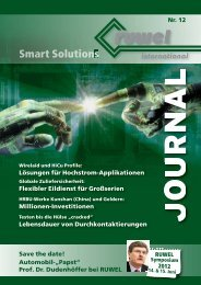 RUWEL-Journal Nr. 12 - RUWEL International GmbH