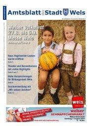 Amtsblatt der Stadt Wels_Juli_2010