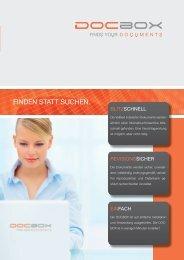 Download Prospekt DOCBOX - Schmidt & Kurtze GmbH