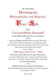 Hermogenis Feuer 8 Stab, - The Alchemy Web Site