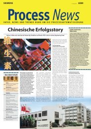 Chinesische Erfolgsstory - Siemens Automation and Drives Group