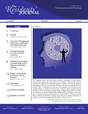 References - American Journal of Psychiatry - PsychiatryOnline