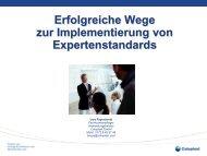 Erfolgreiche Wege Zur Implementierung Von Expertenstandards