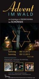 Advent - im Schönseer Land
