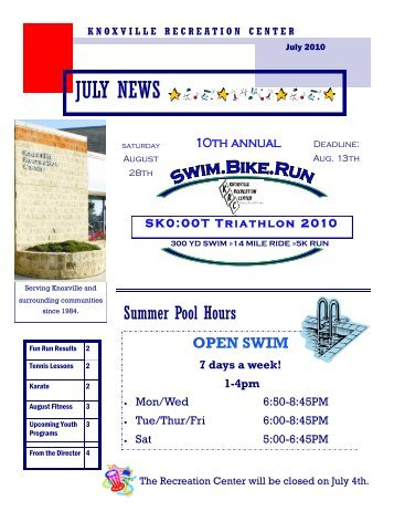 JULY NEWS - Knoxville