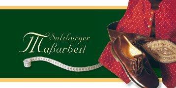 Salzburger Maßarbeit - Wimmer schneidert