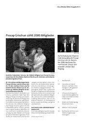 Procap Grischun zählt 2000 Mitglieder