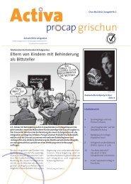 Eltern von Kindern mit Behinderung als Bittsteller - Procap Grischun