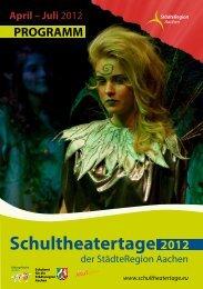Schultheatertage - Theater 99 / AKuT e.V.