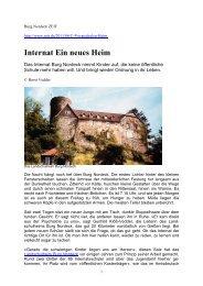 Internat Ein neues Heim