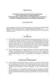 1 Bekanntmachung des Sächsischen Staatsministeriums für ...