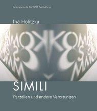 Web-Ansicht: Katalog modifiziert als PDF - Ina Holitzka