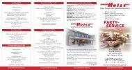 PARTY- SERVICE - Fleischerei Holst