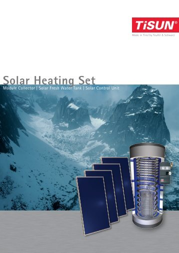 Solar Heating Set - Invisible Heating Systems