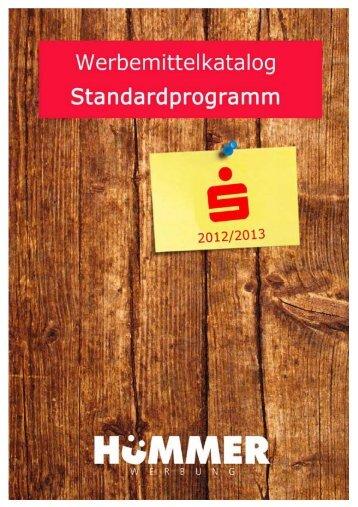Werbeartikel-Katalog für Sparkassen - huemmer-werbung.de