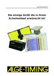 2 Schwimmen - ALGE-TIMING Schweiz