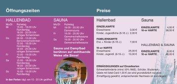 Hallenbad - Perlesreut