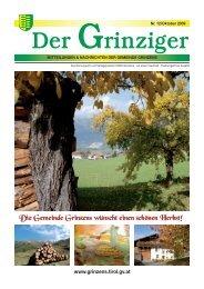 Der Grinziger - Gemeinde Grinzens - Land Tirol