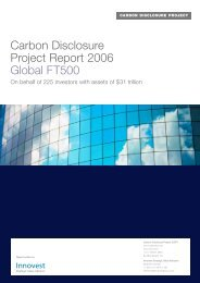 Climate Leadership Index 2006