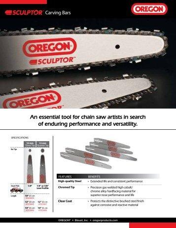 OREGON® Sculptor™ Carving Bars