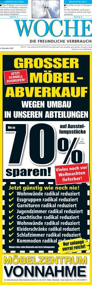 Leichlingen 49-12 - Wochenpost