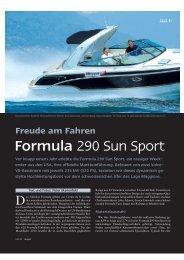 Formula 290 Sun Sport