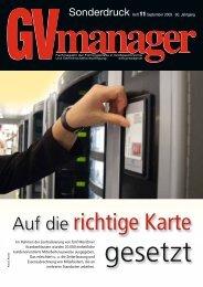 Auf die richtige Karte - Automaten Seitz