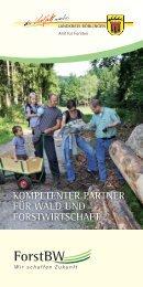 kompetenter partner für wald und forstwirtschaft - Landkreis Böblingen