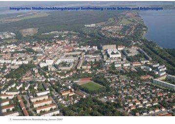 Integriertes Stadtentwicklungskonzept Senftenberg