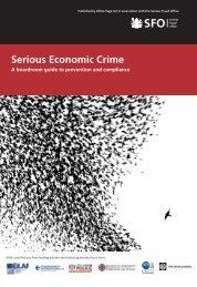 Serious Economic Crime: a boardroom guide to prevention