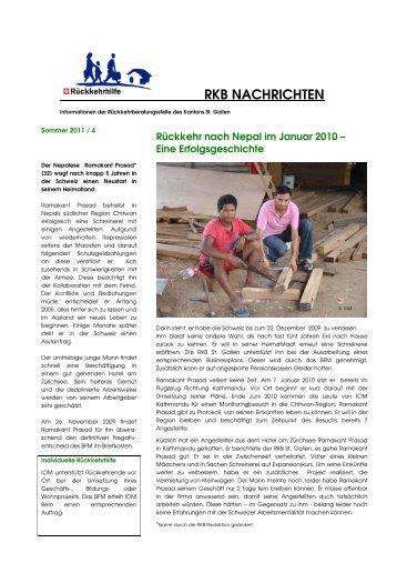 Newsletter 4 / 2011 Deutsch.pdf - Kanton St.Gallen